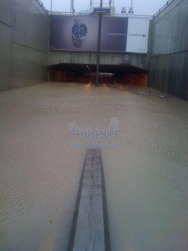 امطار الخير غرق شوارع في عمان وانغاف Imgid132556