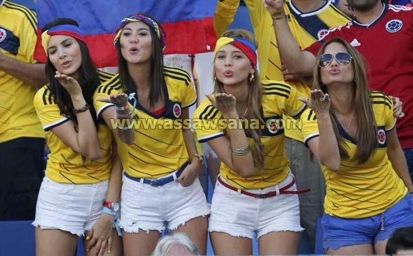 حسناوات كولومبيا يخطفن الأنظار .. صور
