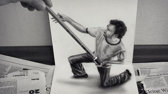 بالصور.. رسومات بالقلم الرصاص تشعرك كأنها حقيقية