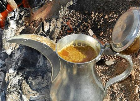 فناجين القهوة البدو