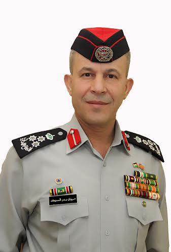 الدفاع المدني يهنئ د مروان بدر السميعات