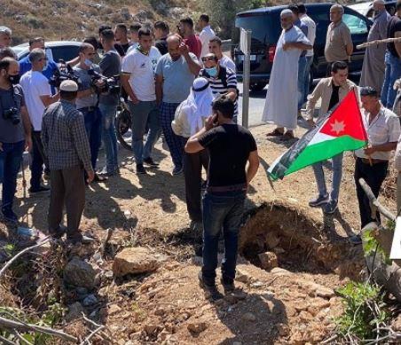 نقل رُفات جندي أردني استشهد في حرب 67