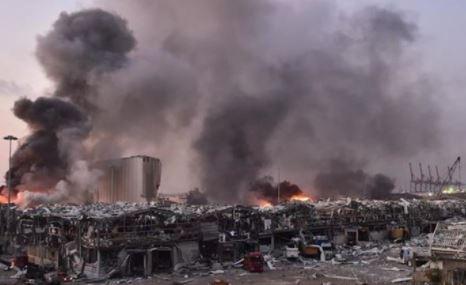 ارتفاع ضحايا انفجار بيروت