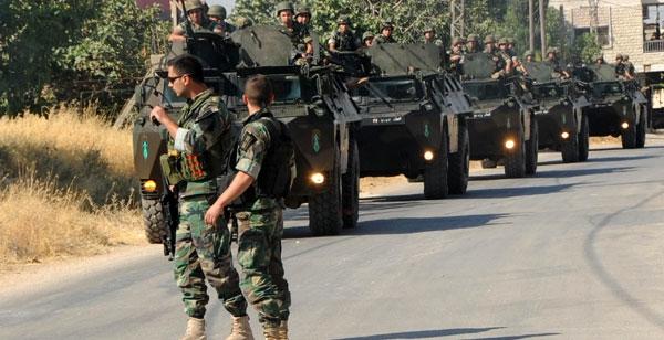 الجيش اللبناني يفجر 4 أطنان من نيترات الأمونيوم