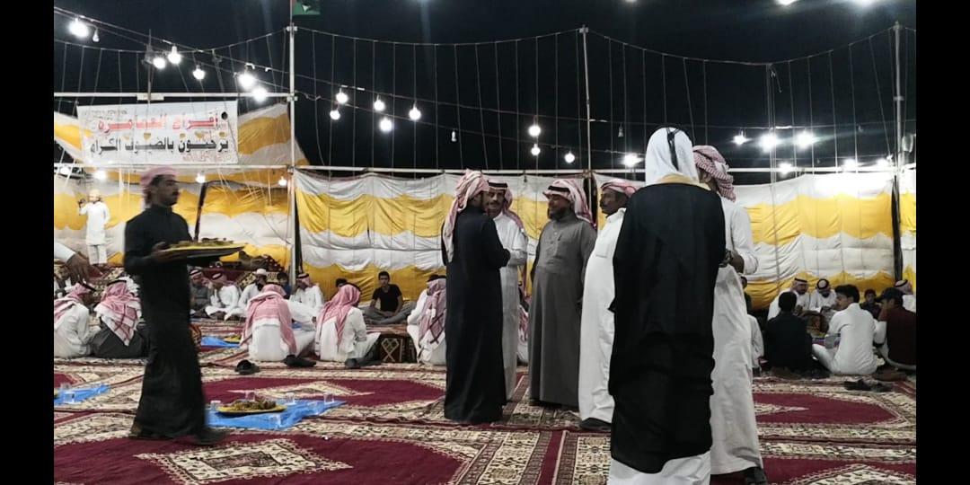 تهنئة من ثامر صالح احمد الأحمد وأخوانه