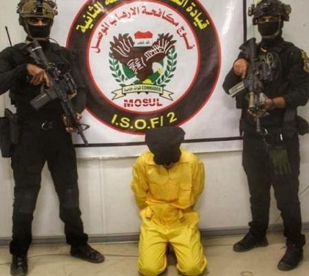 القبض على إرهابي كان يعد لتفجير نفسه بالعراق