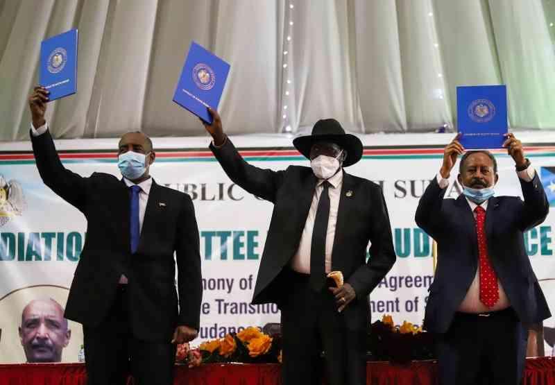 الحكومة السودانية توقع مع الحركات المتمردة اتفاقية سلام