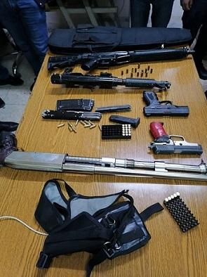 الأمن العام: ضبط 3 أشخاص بحوزتهم أسلحة نارية