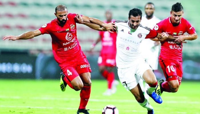 دوري الخليج العربي : الجزيرة  يهزم شباب الأهلي الإماراتي