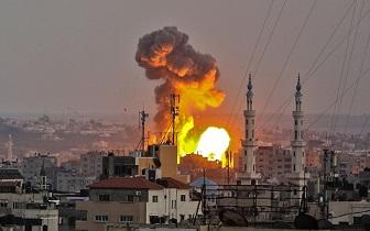 إصابتان جراء قصف إسرائيلي على غزة