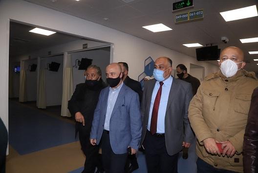 الصحة تعلن جاهزية مستشفى عمّان الميداني