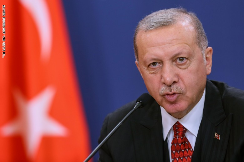 أردوغان: سنكسر مثلث الشر الاقتصادي