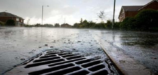 صيانة لمقاطع تصريف المياه في عجلون