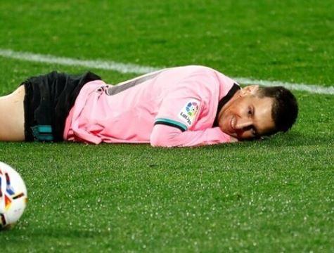 برشلونة يعلن إصابة نجمه ميسي