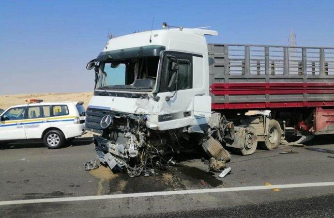 6 وفيات بحادث تصادم في الرويشد
