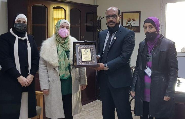 مدراس الجامعة الأولى تحتفل بمئوية الدولة الأردنية