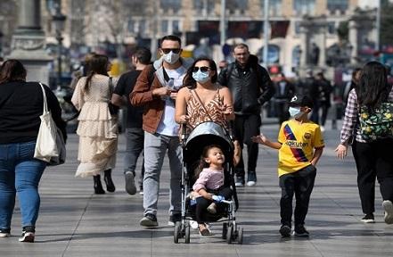 دولة أوروبية تسجل مليون إصابة كورونا خلال أسبوع
