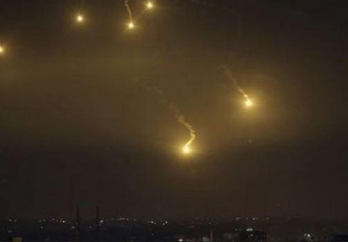 الدفاعات الجوية السورية تتصدى لعدوان الاحتلال