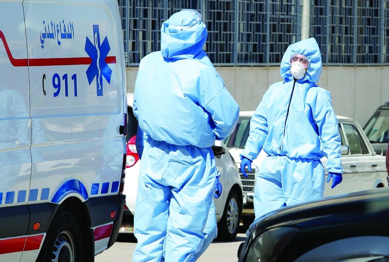 ارتفاع اصابات كورونا النشطة بالأردن