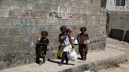 2.3 مليون طفل يمني على شفير المجاعة