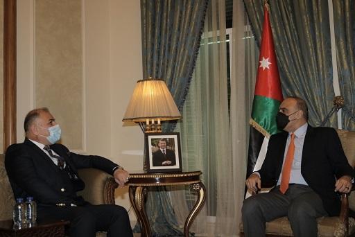 تسريع الخطوات العملية للمشروعات الاستراتيجية بين الأردن والعراق
