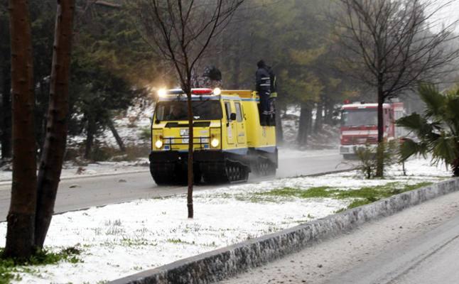 الدفاع المدني: آليات مجنزرة لغايات الإسعاف والإنقاذ