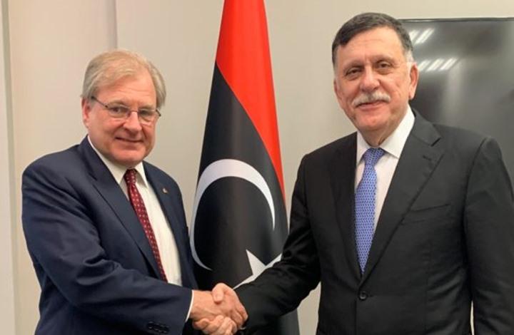 السفير الأمريكي لدى ليبيا يشيد بالتدخل التركي