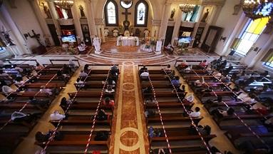 المسيحيون في الأردن يحتفلون بأحد الشعانين