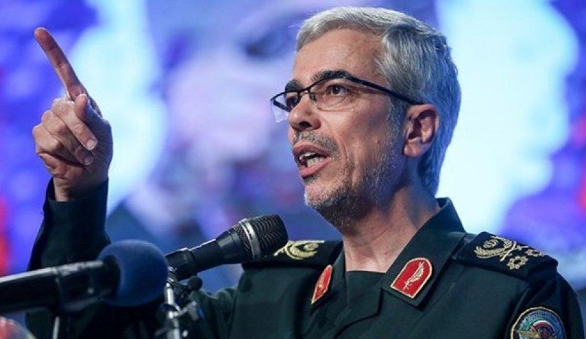 باقري: لن نعلن شيئا عن منفذ الأحداث الأخيرة ضد اسرائيل