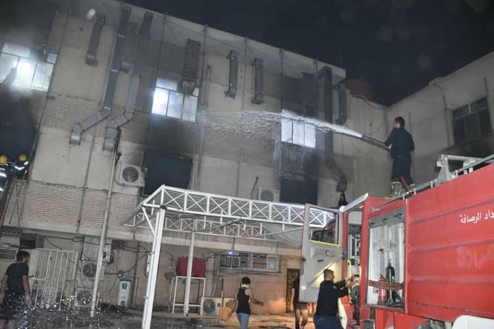 ارتفاع ضحايا انفجار الأوكسجين في بغداد