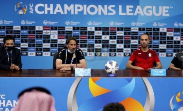 أبوزمع: نتطلع إلى الفوز الأول أمام النصر