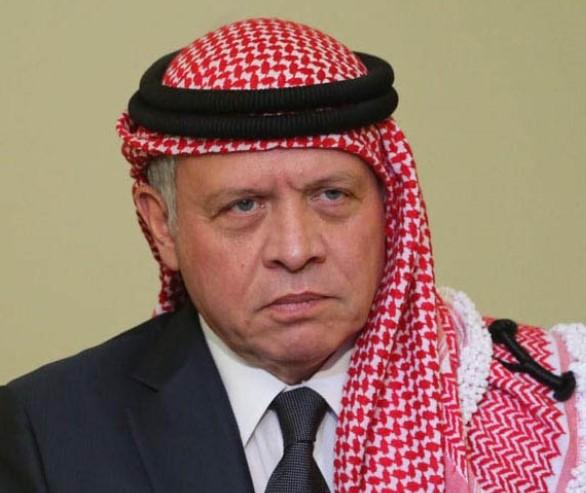 الملك يعزي الرئيس العراقي