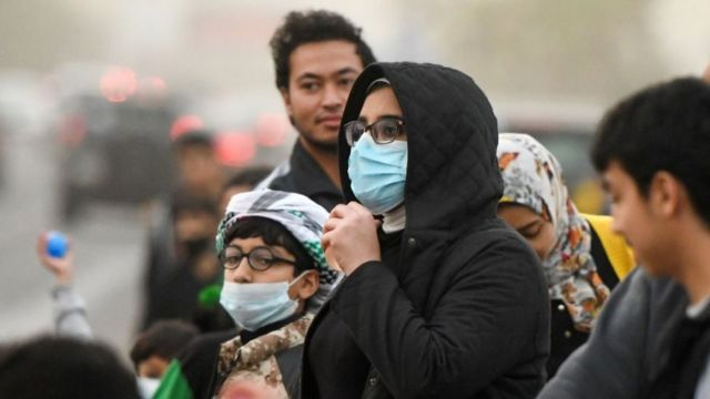 إصابات كورونا في قطر