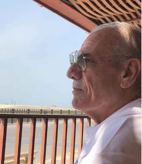 والد الفنان باسل خياط